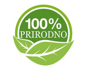 100 % prirodni preparati logo