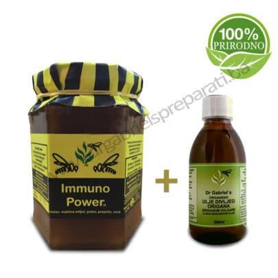 Set za jačanje imuniteta - Ulje divljeg origana i Immuno power